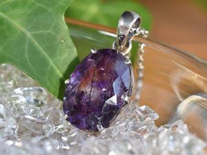 エレスチャルペンダント No.4 紫