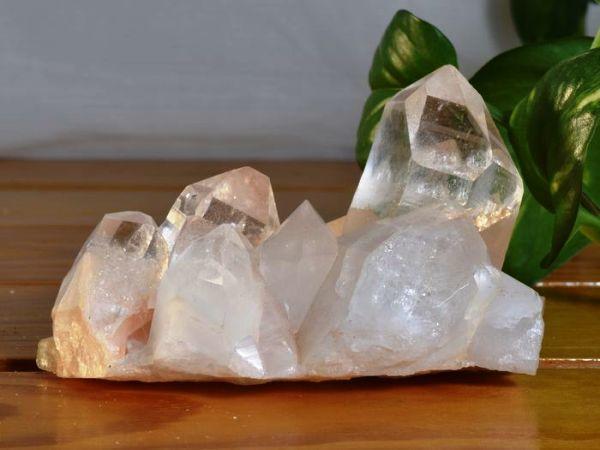 ヒマラヤ水晶原石クラスター(群晶)の拡大画像 pk-4番