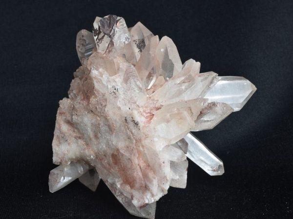 ヒマラヤ水晶原石クラスター(群晶)の拡大画像 pk-5番
