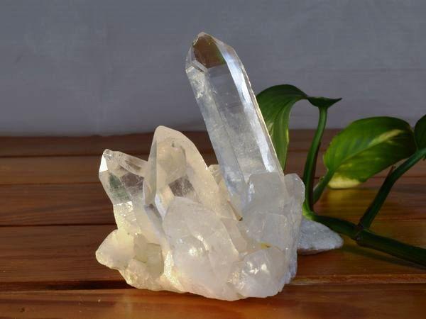 ヒマラヤ水晶クラスターの写真 la-12番