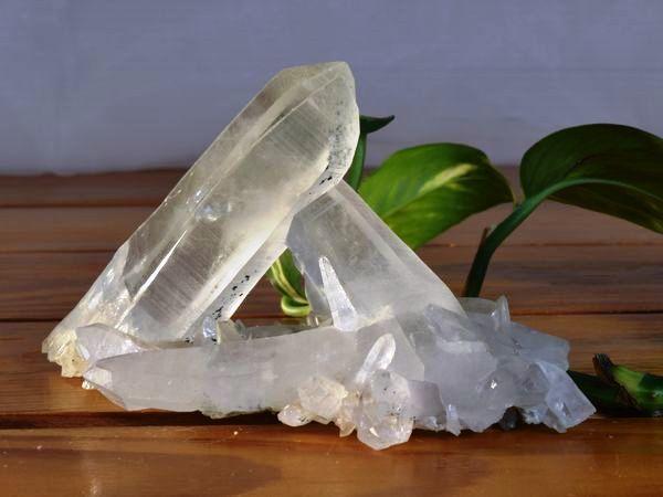 ヒマラヤ水晶クラスターの写真 la-7番